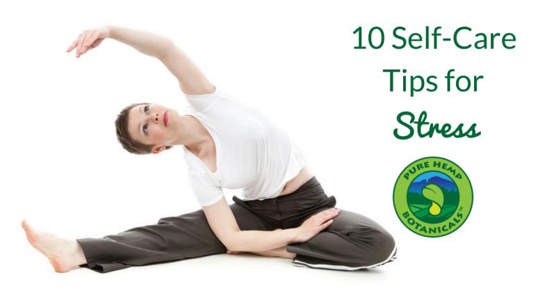 stress self care tips
