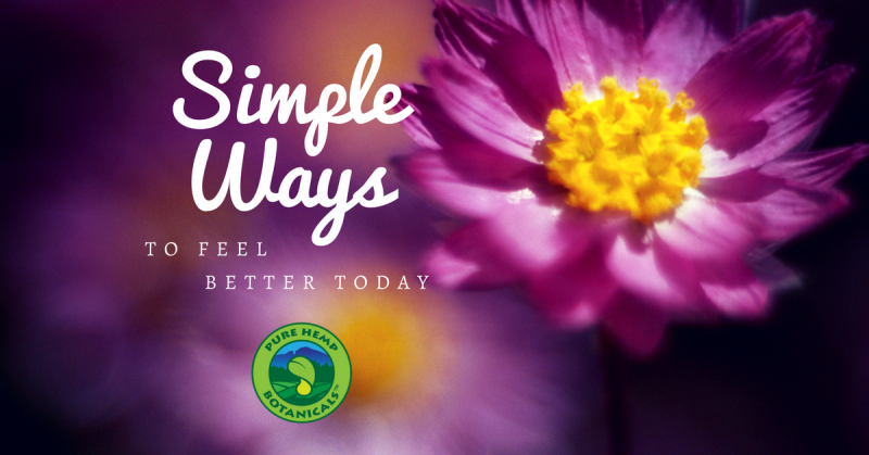 simple ways feel better today