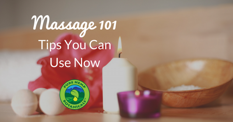 massage cbd health tips