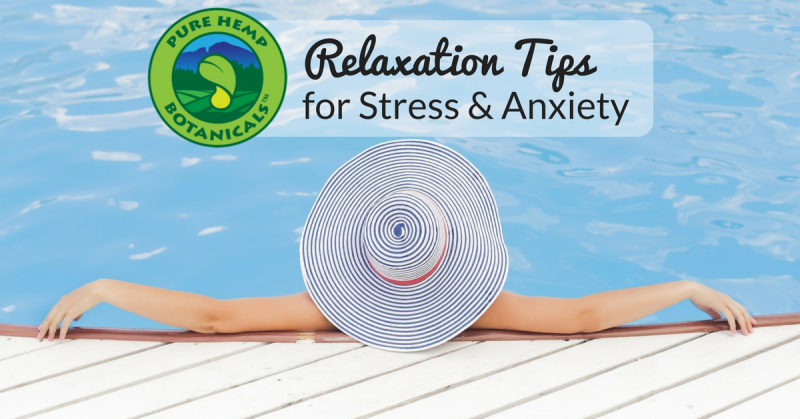 relax relaxation stress anxiety cbd pure hemp botanicals