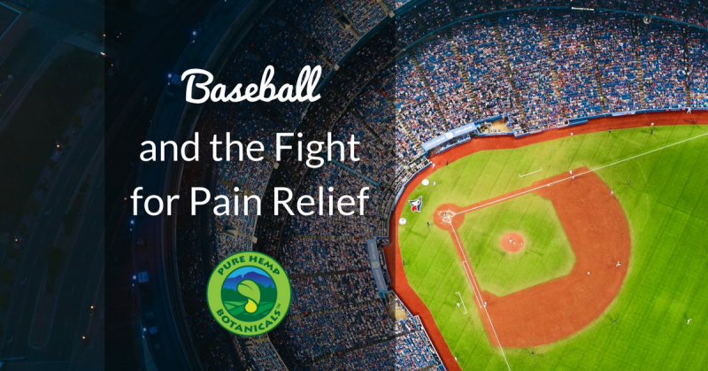 mlb baseball cbd hemp cannabis pain relief opening day