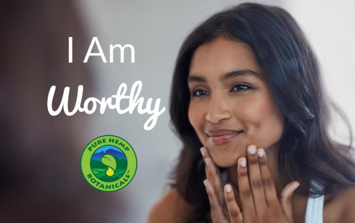 i am worthy, cbd, hemp, pure hemp botanicals, suicide prevention, yoga