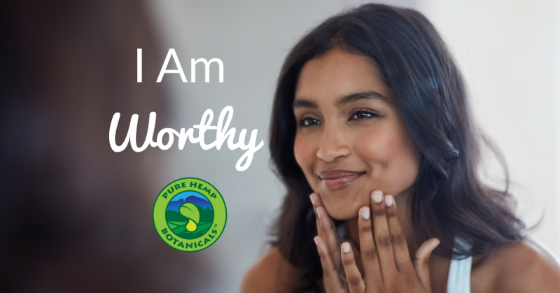 i am worthy, cbd, hemp, pure hemp botanicals, suicide prevention, yoga