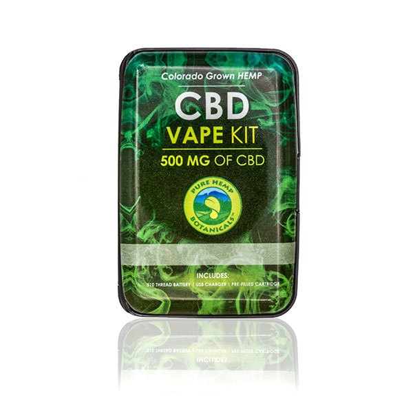 500mg Cbd Vape Oil Cartridge Amp Pen Pure Hemp Botanicals