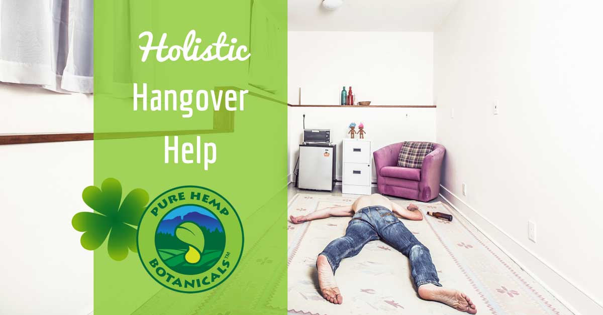 Holistic Hangover Help – Happy St. Patrick's Day!