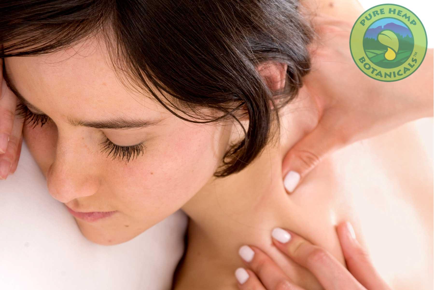 Using Your Pure Hemp Botanicals CBD Tincture During a Massage