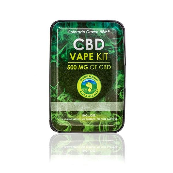 500mg Pure Hemp CBD Oil Top Flow Vape Kit