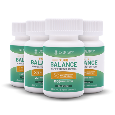Subscribe CBD Softgels Pure Balance