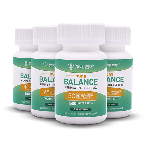 Subscribe CBD Softgels Pure Balance