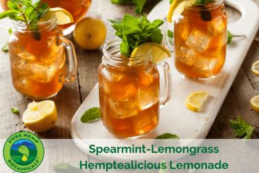 Spearmint-Lemongrass Hemptealicous Lemonade