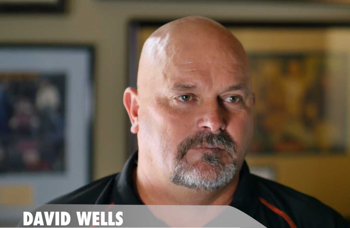 World Series Athlete David Wells
