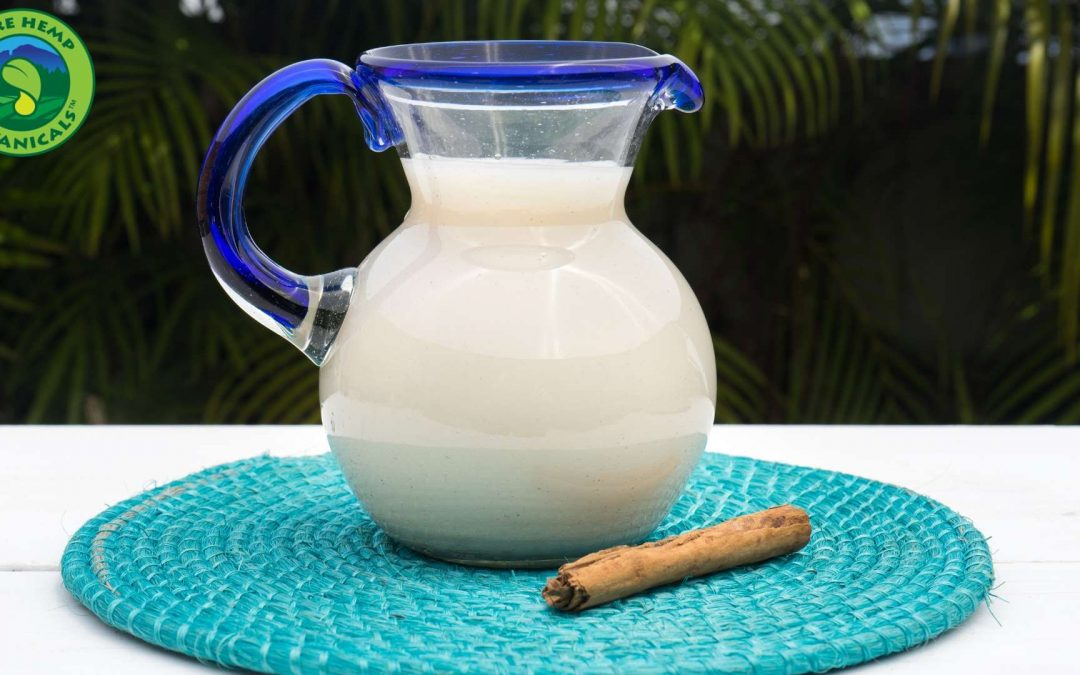 Cooking With CBD: Horchata With a CBD Boost
