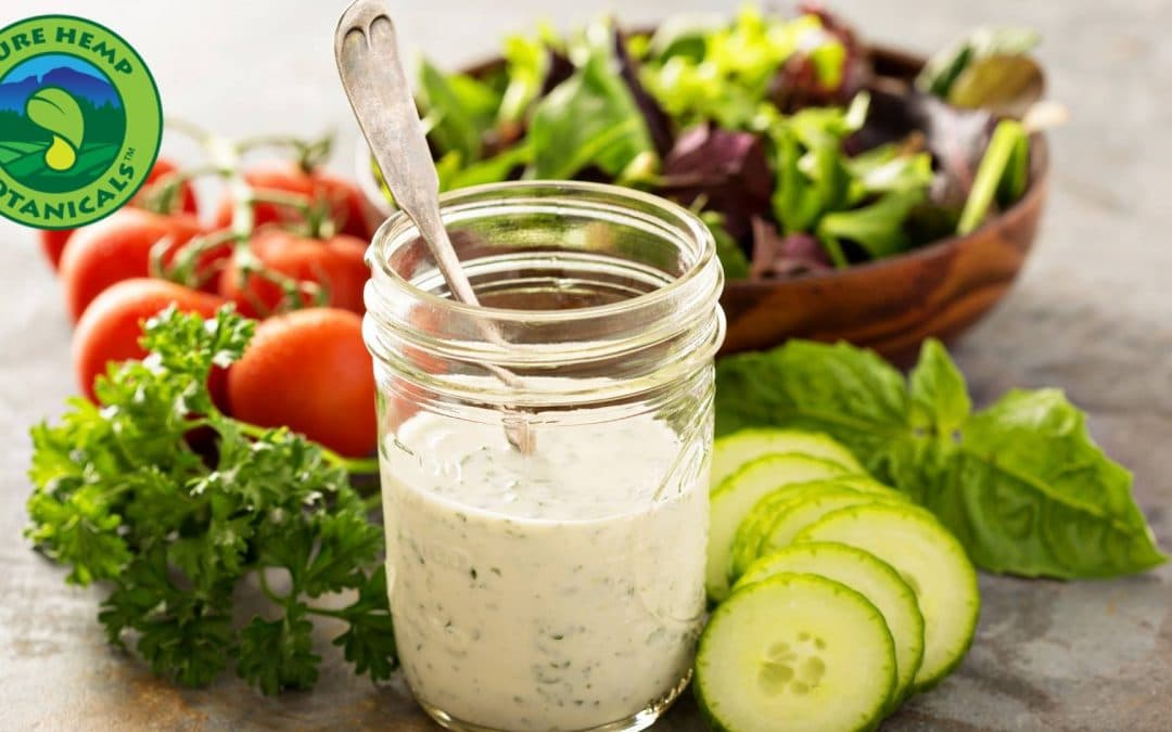 Cooking with CBD: Homemade Ranch Dressing