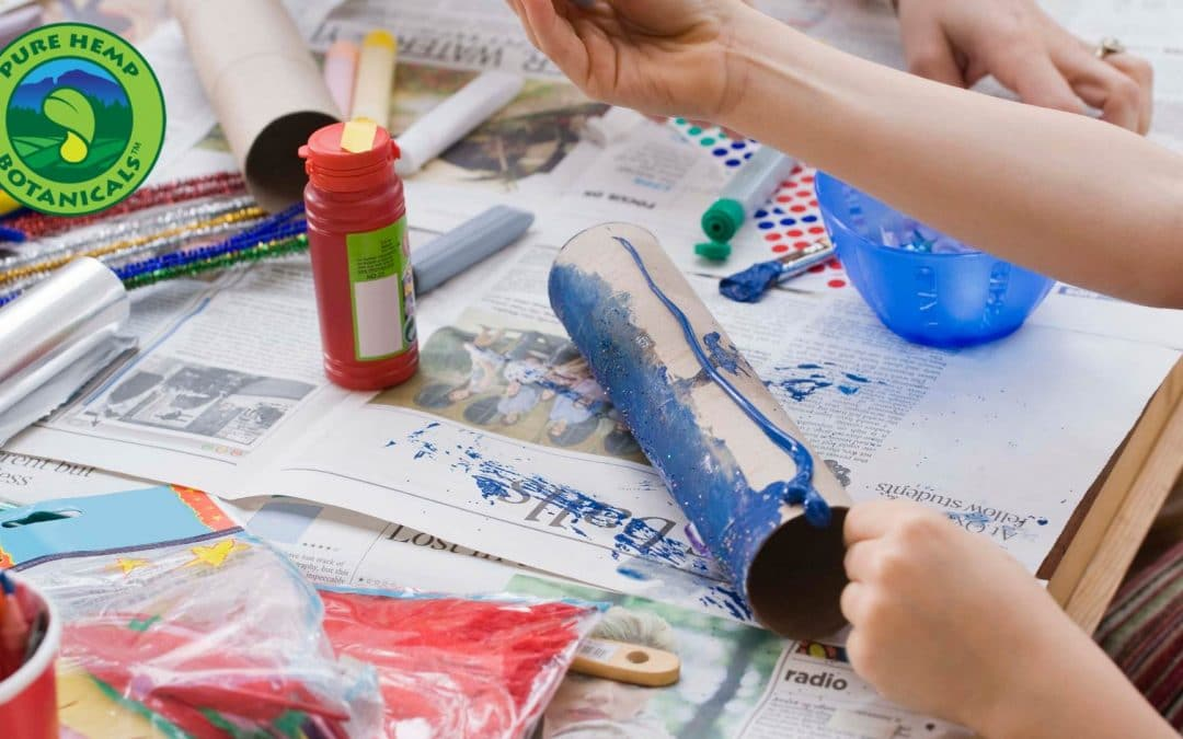 Summertime Recycled Craft Ideas