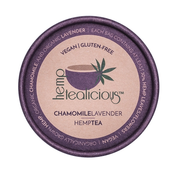 Hemptealicious Chamomile Lavender Tea
