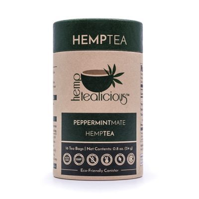 Hemptealicious Peppermint Mate Tea