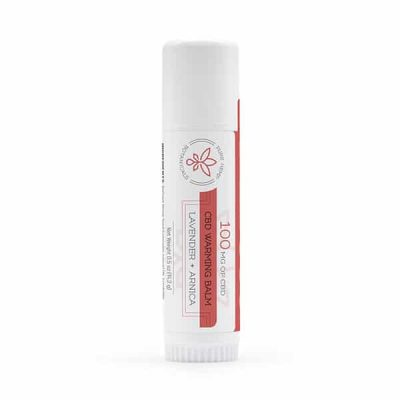 100mg Warming Balm CBD
