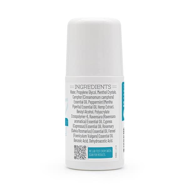 500mg cooling gel bottle ingredients