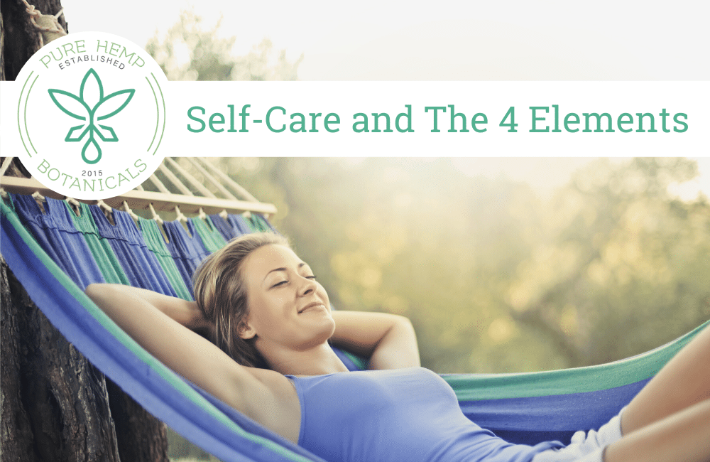 Self-Care and The 4 Elements