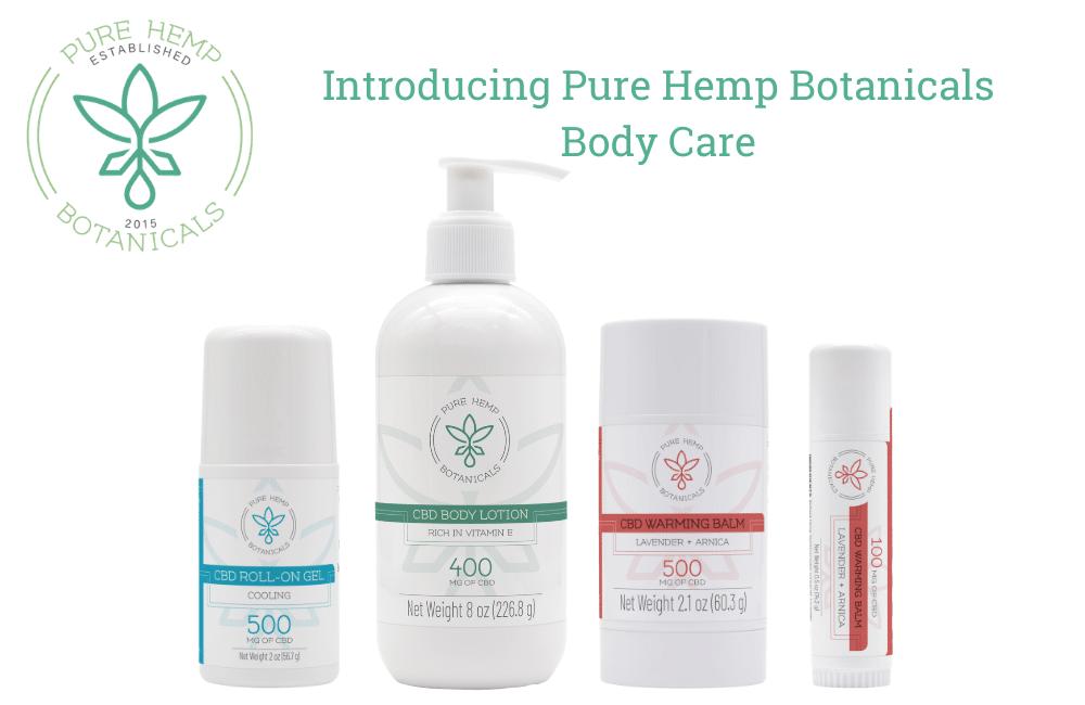Introducing Pure Hemp Botanicals CBD Body Care