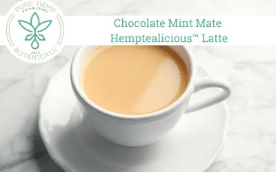 Chocolate Mint Mate Hemptealicious™ Latte