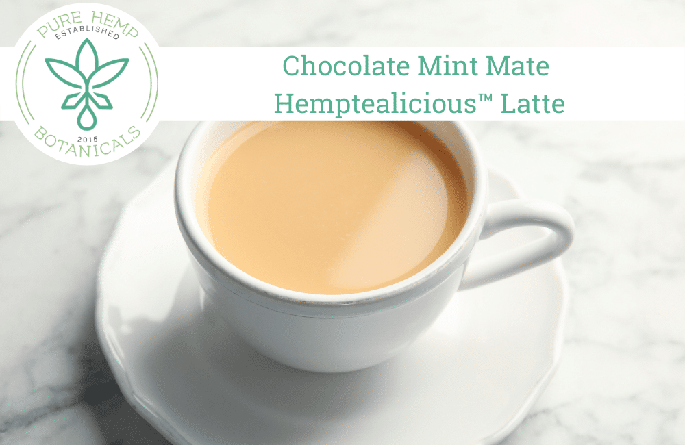 Chocolate Mint Mate Hemptealicious™ Latte