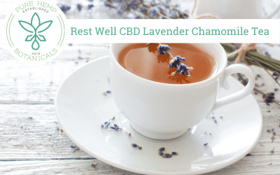 Well Rested CBD Lavender Chamomile Tea