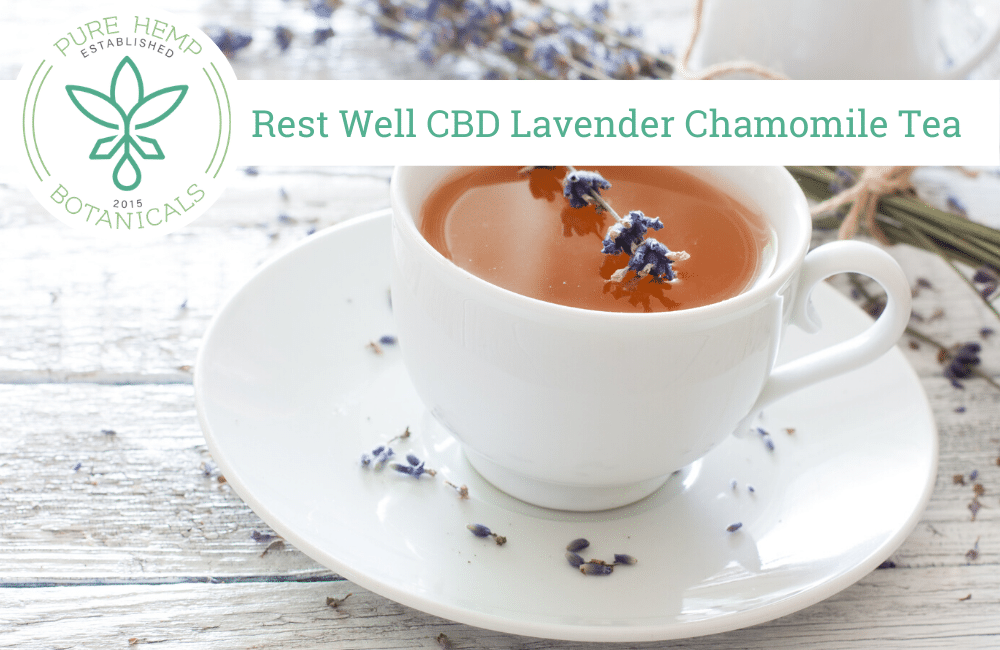 Well Rested CBD Lavender Chamomile Tea