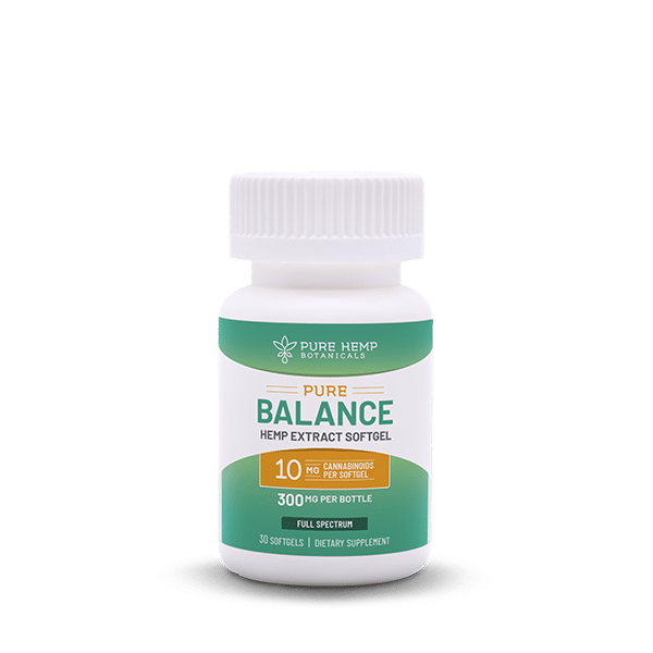 Pure Balance Softgel CBD
