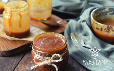 CBD Infused Caramel Sauce