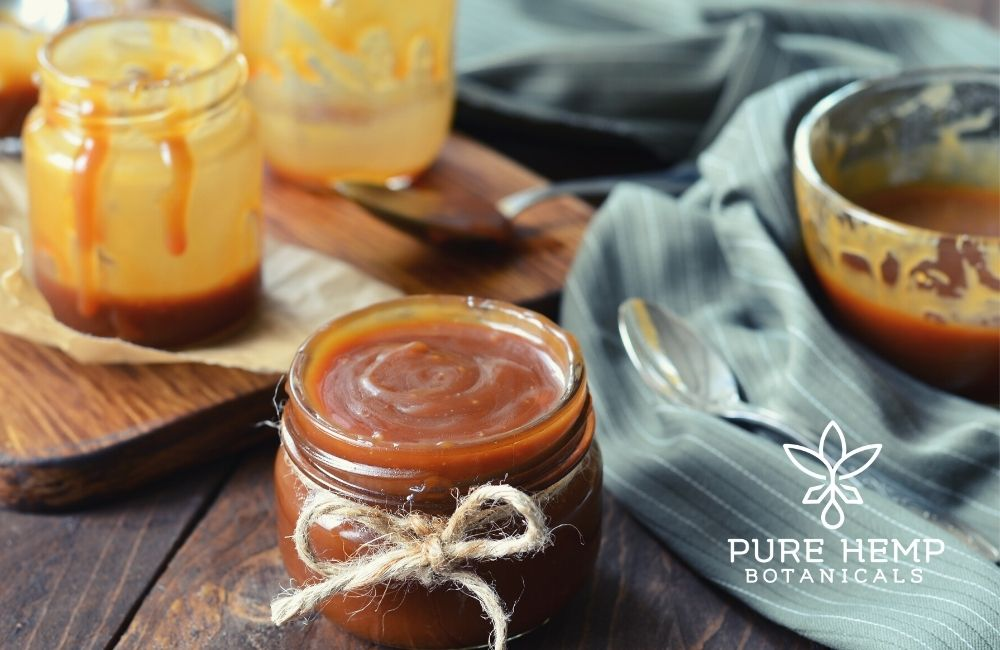CBD Infused Caramel Sauce