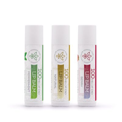 CBD Hemp Oil Lip Balms