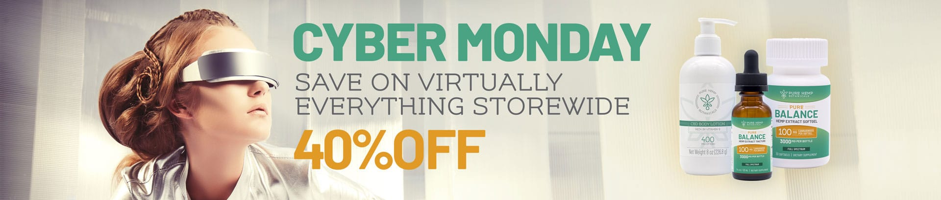 CBD Cyber Monday Sale