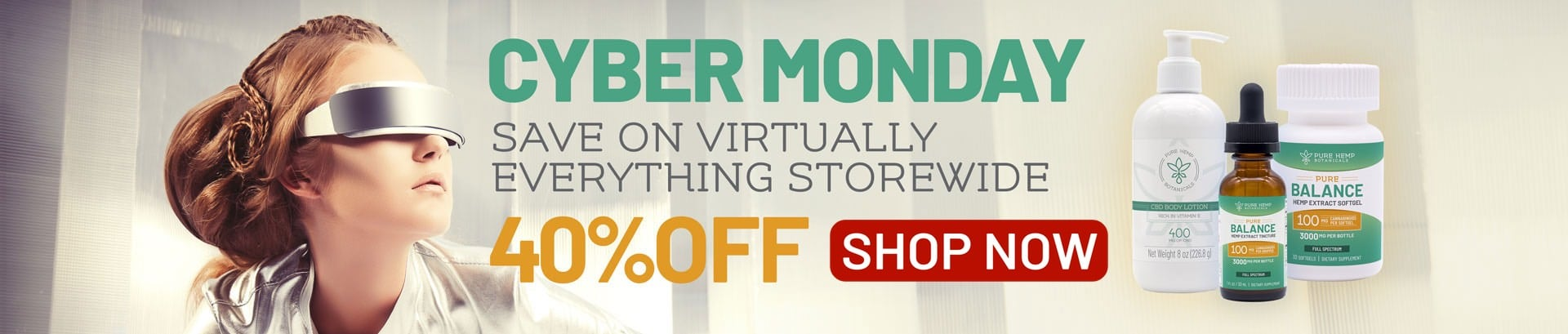 Cyber Monday CBD On Sale