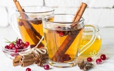 Hemp Spiced Tea Recipe for Digestion