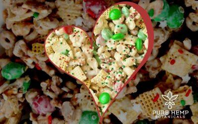 Holiday Treats: CBD Reindeer Chow Recipe