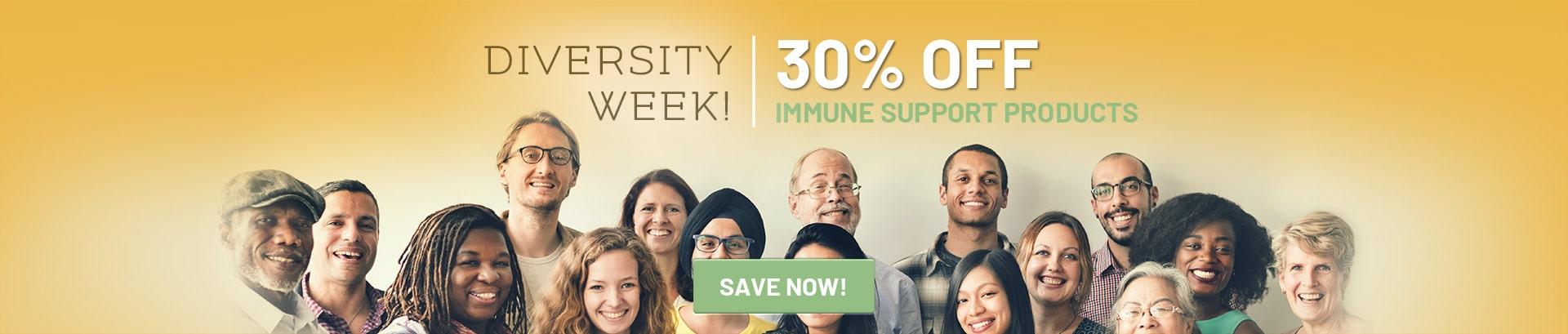 Diversity Week Sale Pure Hemp