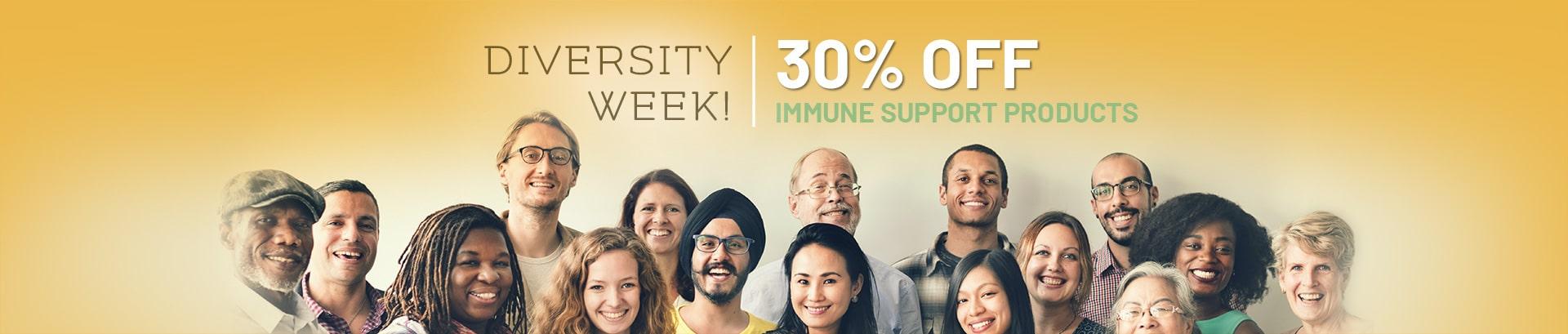 Diversity Week Pure Hemp Immune