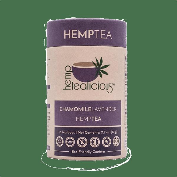 Hemptealicous Chamomile Lavender Tea
