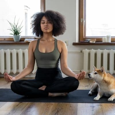 Stress-free-meditation