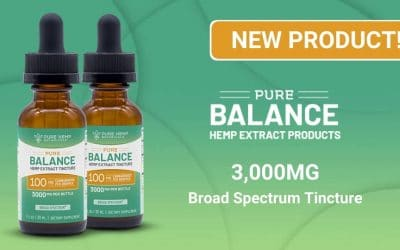 New Product: Extra Strength Broad Spectrum Tincture